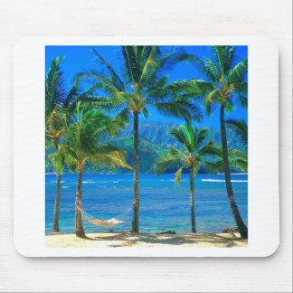Strand-Hängematte Kauai Hawaii Mauspads