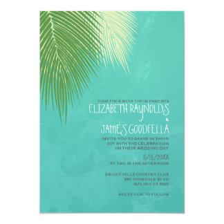 Strand-Hochzeit in Urlaubsorts-Einladungen 12,7 X 17,8 Cm Einladungskarte