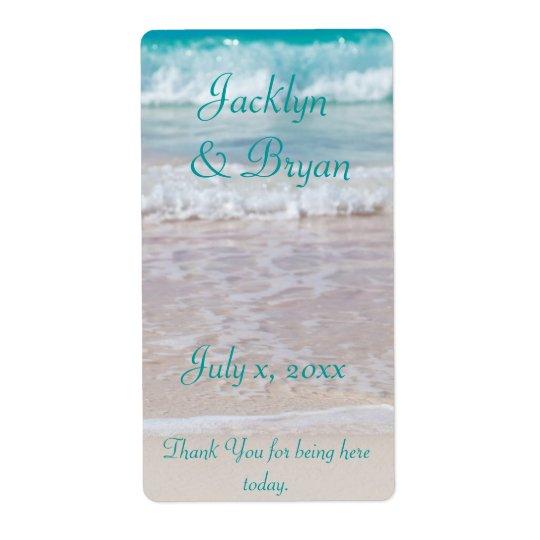 Strand-Hochzeit, Wein, Wasser, Gewohnheit