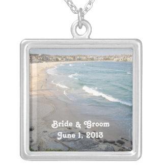 Strand-Hochzeits-Halskette
