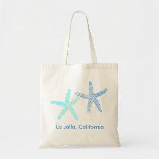 Strand-Hochzeits-Willkommens-Taschen-Tasche (blaue Tragetasche