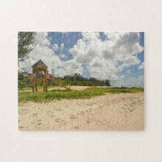Strand-Hütte Barbados Puzzle