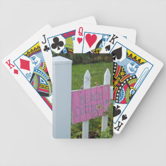 Strand-Hütte Bicycle Spielkarten