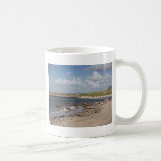 Strand in Donegal, Irland Kaffeetasse