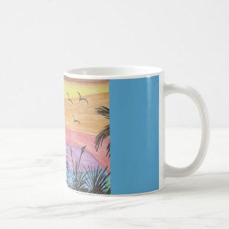 Strand-Inspiration Kaffeetasse