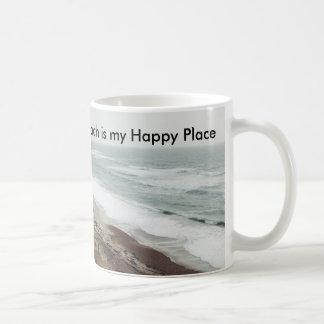 Strand ist meine glückliche Platz-Tasse Kaffeetasse