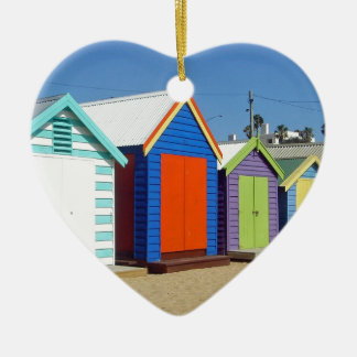 Strand-Kasten-Hütte Melbourne Australien Keramik Ornament