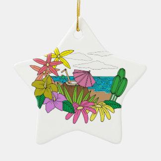 Strand Keramik Ornament
