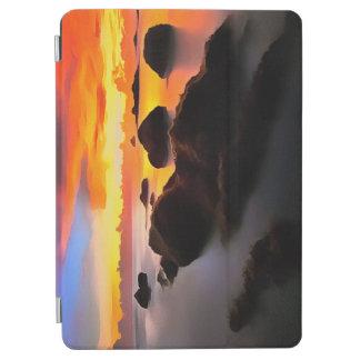 Strand-Landschaft am Sonnenaufgang iPad Air Hülle
