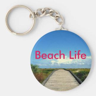 Strand-Leben Keychain Schlüsselanhänger