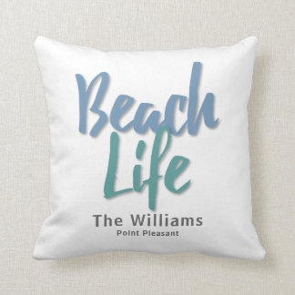 Strand-Leben Kissen