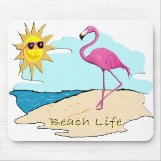 Strand-Leben Mousepads