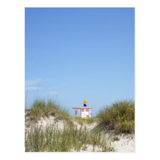 Strand-Leibwächter Postkarte