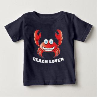 Strand-Liebhaber - Baby-feiner Jersey-T - Shirt