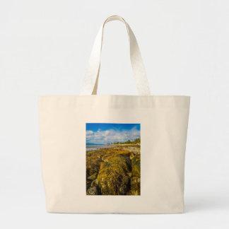 Strand-Meerespflanze Jumbo Stoffbeutel