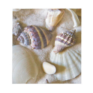 Strand-Muschel-Thema #2 Notizblock
