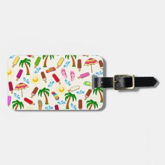 Strand-Muster Gepäckanhänger