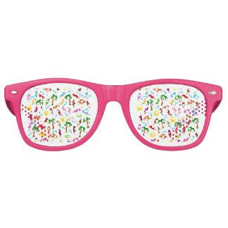 Strand-Muster Retro Sonnenbrillen