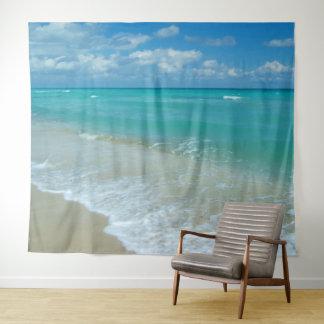 Strand-Ozean-landschaftlicher Wandteppich