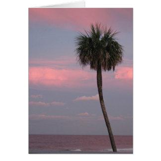 Strand-Palme Karte