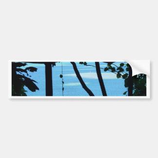 Strand Paradis Autoaufkleber