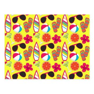 Strand-Party drehen Reinfall-Sonnenbrillen Postkarte