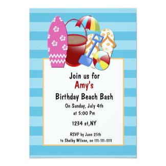 Strand-Party Einladungen