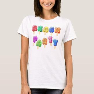 Strand-Partyconfetti-Eiscreme-Leckereien T-Shirt