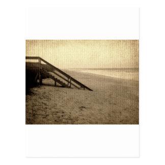 Strand-Pier, Florida, USA Postkarte
