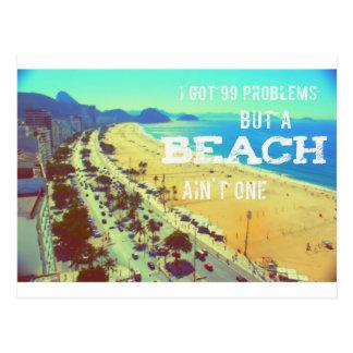 Strand-Reisepostkarte Postkarte