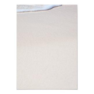 Strand-Sand-Druck Ihr eigenes leeres Papier 12,7 X 17,8 Cm Einladungskarte