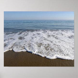 Strand/Sand/Wellen Poster