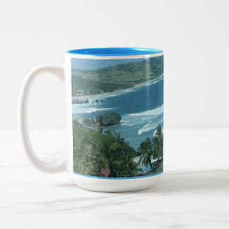 Strand-Schale Zweifarbige Tasse