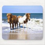 Strand-Schönheits-Pferdemausunterlage Mousepads
