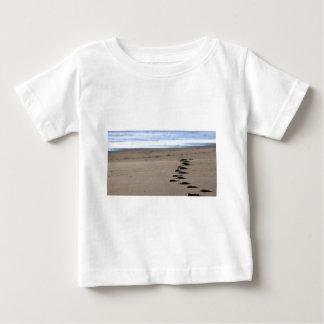 Strand-Schritte Baby T-shirt
