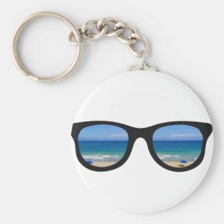 Strand-Sonnenbrille Schlüsselanhänger