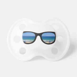 Strand-Sonnenbrille Schnuller