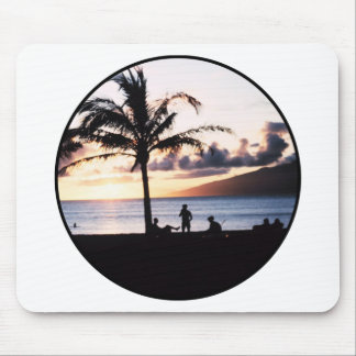 Strand-Sonnenuntergang Mauspad
