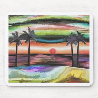 Strand-Sonnenuntergang Mousepad