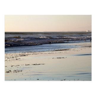 Strand-Sonnenuntergang Ormond Strand Postkarte