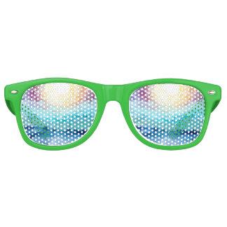 Strand-Spaß-Party-Schatten im Grün Retro Sonnenbrillen