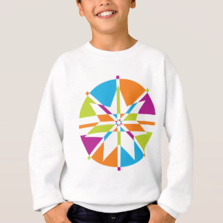 Strand-Stern 7 Punkt-Entwurf Sweatshirt