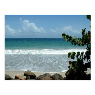 Strand (Strand), Le Diamant - Martinique, FWI Postkarte