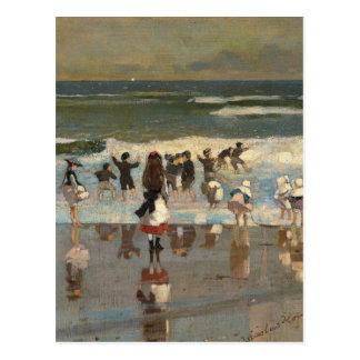 Strand-Szene - Winslow Homer Postkarte