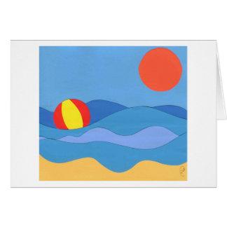 Strand-Tag Karte