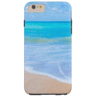 Strand-Tageshübsches tropisches Ufer Tough iPhone 6 Plus Hülle