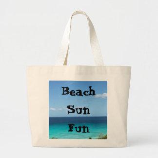 Strand-Tasche Jumbo Stoffbeutel