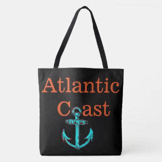 Strand-Taschentaschenanker Atlantik-Küste Tasche