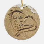 Strand-Thema-Hochzeits-Verzierung Weinachtsornamente