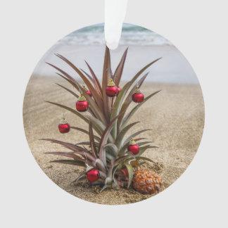 Strand-tropische Ananas-Weihnachtsverzierung Ornament